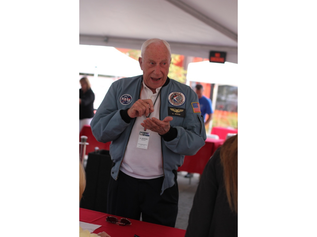 Astronaut Al Worden - one of only 24 people to have flown to the Moon